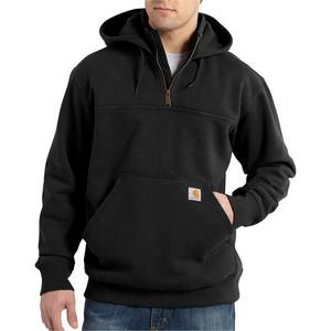 Carhartt Men's Rain Defender Paxton Heavyweight Hooded Zip Mock Sweatshirt 100617